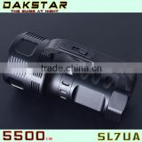DAKSTAR SL7UA XML U2 5500LM 26650 Aluminum Rechargeable high power led flashlight