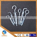 AOJIA ANCHOR HOLLOW WALL METAL ANCHOR ,WITH HOOK BOLT AND EYE BOLT ,BLUE&WITHE ZINC