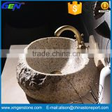 Newest Stone Product Bathroom Natural Granite Wash Basin