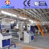 Corrugated cardboard production line for sale, fluted cardboard making machine