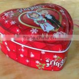 valentines day heart shaped tin cans,tin can sealing equipment,tin box/tin can/tin /gift tin