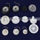 rubber plastic stainless Bathroom drain stopper                                                                         Quality Choice