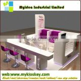 Salon nail table/nail polish table/red nail manicure table