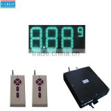 "36"" Green Outdoor Electronic Gas Station LED Fuel Price Board"