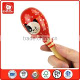 musical instruments to the z sand pipe glossy exercise baby coordinative ability of eyes and hands toys mini baby wooden maraca