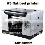A3 UV Digital Flat Bed Printer Alibaba China for 2015