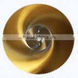 HSS circular saw blade for cutting steel pipe and iron bar