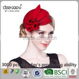 Fashion Women Church Hat Wholesale Wool Felt Fascinator                                                                         Quality Choice