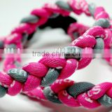 tri braid 3rope sports necklace