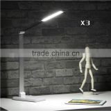 12V 8W Light creative table lamp led light touch lampBusiness desk lamp Double color lamp Reading lamp Eye protect desk lamp