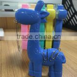 Novelty Cute Deer Magnetic Paper Clip Holder, Desk Decor from Shanghai Factory                                                                         Quality Choice