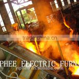 Hot sale!! 750kg 450kw iron/steel scrap melting furnace