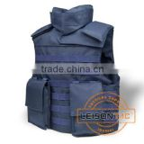 Ballistic Vest with 1000D waterproof and flame retardant nylon the color fastness meets ISO Standard