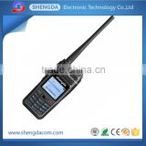 High tech VHF UHF dPMR digital handheld radio/walkie talkie support digital/ analog modes