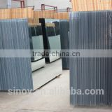 Reliable supplier for 2mm to 6mm aluminum coated sheet mirror, aluminium mirrored glass sheet,