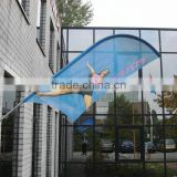 Wholesale Outdoor High Quality Aluminum Feather Flag Pole