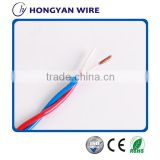 cheap electrical wire household appliances PVC Insulation Flexible twisted wire with good quality