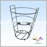 Wholesale custom modern decorative garden floor handmade wire basket for flower pot