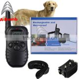 A-bomb 330 Yards Pet Remote Training E-Collar Rechargeable and Waterproof 1 Pet Dog Training Collar