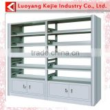 Used school furniture magazine bookcase library furniture stainless steel furniture