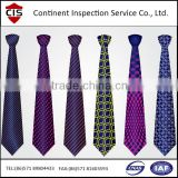 Hand Made Silk Ties,man tie,tie inspection,factory assessment,QC inspectors,inline inspection,loading check,container supervise