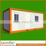 Mobile pre-build container house, can be used as office, living room, dormitory