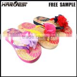 Fancy custom logo slipper for girl , fashion new design eva slipper china