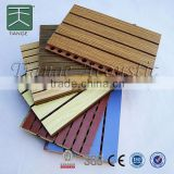 pvc panel with groove 4 strips 3 grooves three layer composite 1220*1220mm for Wall and Ceiling
