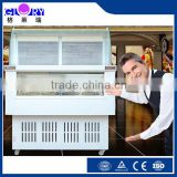 CE approved ice cream showcase, Ice cream showcase freezer, Ice cream display refrigerators