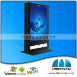 "2015 New advertiser 70 inch digital electronic menu boards outdoor LCD advertising player (32""42""46""47""55""65""70""82""84""optional)"