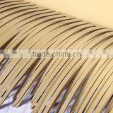 Hot sale aluminum flexibility synthetic thatch for roof decoration