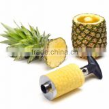 Fruit Slicer High Quality Easy to Use Stainless Steel and plastic Pineapple Slicer                                                                         Quality Choice