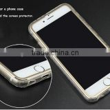 Hot-selling full body cover titanium alloy small frame tempered glass screen protector wholesale