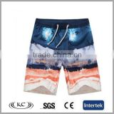 high quality sale online popular anti-wrinkle logo printing mens beach shorts