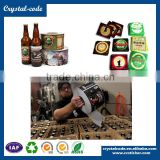 Coating film non-toxic strong adhesive freezing resistance beer label