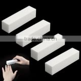 1 PCS DIY White Buffing Sanding Files Block Pedicure Manicure Care Nail Art Buffer Makeup Beauty Tools