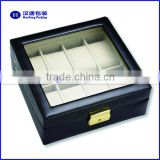 Hot sale high end piano lacquer luxury wood wrist watch box