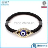 rhinestone plated metal turkish evil eye accessory hair and jewelry