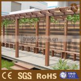 wpc pergola and flooring system- includes composite wood post, beams and accessory