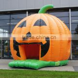 pumpkin bouncy castle commercial for sale /hallowen decorations inflatable bouncy castle prices/cheap adult bouncy castle