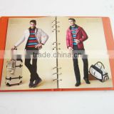 A5 Ring Binding Fashion Garment Luxury Brochure Printing