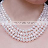 2015 newest fashion jewelry necklace set factory china supplier antique pearl necklace