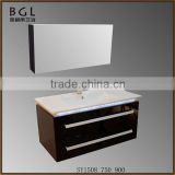 Luxury bathroom design Direct Marketing Factory White Painting Wall mounting Bathroom Vanity