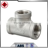 "ASME A105 Schedule: 160 ; Size A: 1"" Socket weld Equal Tee with pressure Class 1500lbs ,NPT Thread standard Female pipe fitting"