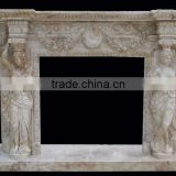 marble fireplace accessory of mantel