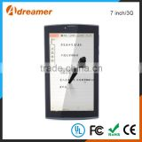 Front camera 30W /Back camera 200W wifi tablet pc tablet 7 inch android os