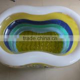 Yiwu factory price new round deep design inflatable phthlate free pvc swimming pool for child