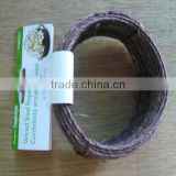 Green or brown wired sisal rope with 2mm daimeter with high quality and competitive price