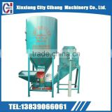 Feed crushing and mixing machine for poultry farms grain grinder and mixer animal feed crusher mixer