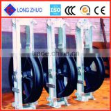 Pulley electric wires,Hanging Type Cable Block,Large diameter cable tackle pulley